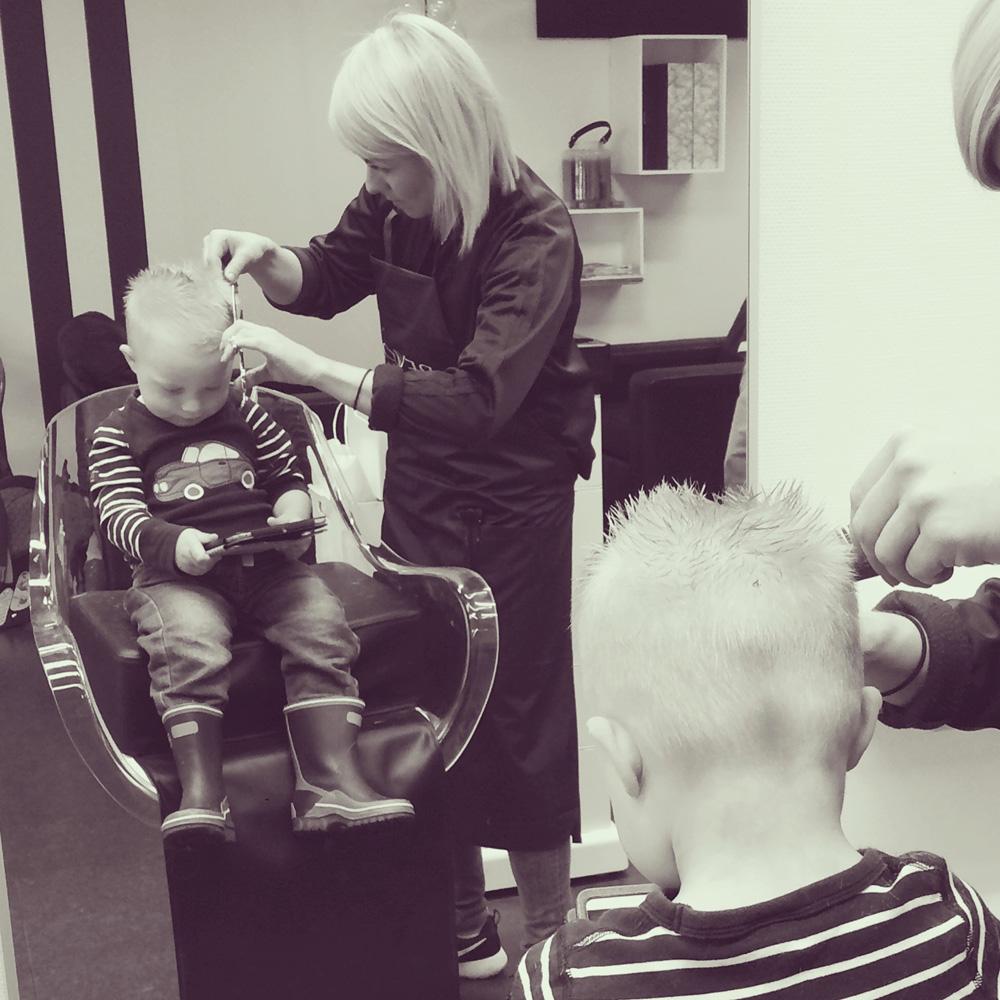 Bild på barnklippning frisyr hos Frisör Frida i Borlänge